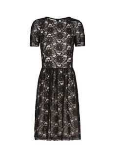 MANGO - Vestido guipur