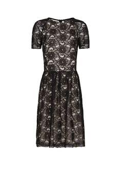 MANGO - Guipure dress