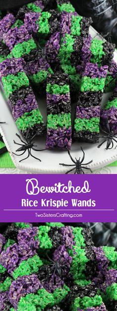 Bewitched Rice Krispie Wands | Posted by: DebbieNet.com