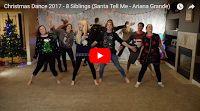 SCG VIRALS   Christmas Dance 2016 with 8 Siblings - Mariah Carey & Pentatonix