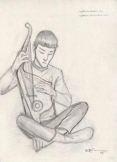 Spock by CaptBexx on DeviantArt