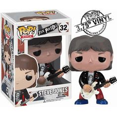Sex Pistols Steve Jones Pop Rocks Vinyl Figure