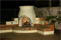 You want to spend as much time as possible outdoors and love entertaining outside. Make your outdoor kitchen or patio a truly appealing gathering place for friends and family by using Mexican tile on your outdoor countertop, fireplace, hearth, or add an accent, such as a mexican tile mural on a nearby wall.