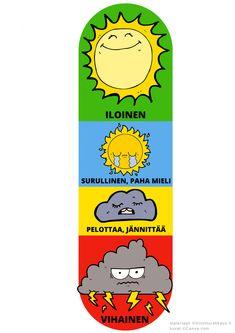 Tunnetaidot - Viitottu Rakkaus Social Work, Social Skills, School Fun, Pre School, Teaching Kids, Kids Learning, Kids And Parenting, Workshop, Classroom