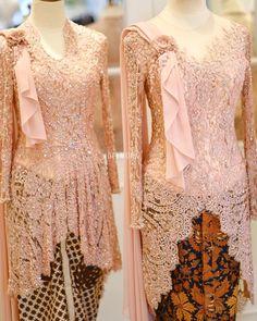 Kebaya Lace, Kebaya Dress, Caftan Dress, Lace Dress, Ruffle Blouse, Kebaya Muslim, Kebaya Hijab, Kebaya Brokat, Model Kebaya Modern