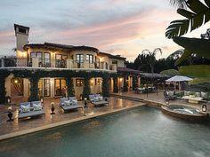 #KhloeKardashian's California Home: Pool>> http://www.frontdoor.com/photos/inside-khloe-kardashians-california-mansion?soc-pinterest