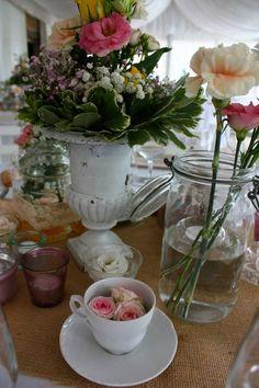 ONE DAY EVENT, mariage champêtre vintage, jute