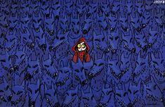 Sexual harassment. Today's cartoon by Doaa Eladl: https://www.cartoonmovement.com/cartoon/43566