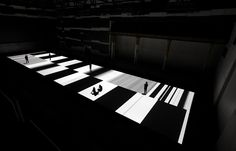 Japanese-born, Paris-based electronic composer and visual artist Ryoji Ikeda presented his project test pattern [No 5] at Carriageworks (Home of Australian Fashion Week) last week. The piece converts various data, text, sounds, photos and movies into an incredible fit of of graphic illuminated binary code, which pulsates up and down a 28 x 8 metre floor space.