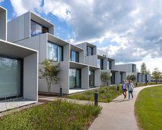 ⭐️ WilkinsonEyre completa la vivienda modular para estudiantes del Instituto Dyson | Casas Prefabricadas ®