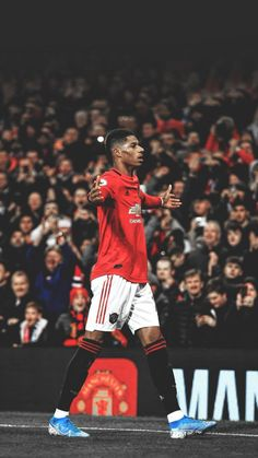 Manchester United Stadium, Manchester United Wallpaper, Manchester United Images, Manchester United Legends, Best Football Players, Soccer Players, Messi, Neymar Football, Marcus Rashford