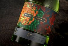 Archie Rose X Horisumi Limited Release rare gin series, celebrating the Japanese seasons. Design and packaging by Squad Ink. Coffee Bottle, Whiskey Bottle, Red Miso, Limited Edition Packaging, Wine Packaging, Creativity And Innovation, Innovation News, Label Design, Graphic Design