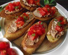 W garach u Gosi: Tosty francuskie Malaga, Bruschetta, Ethnic Recipes, Food, Eten, Meals, Diet