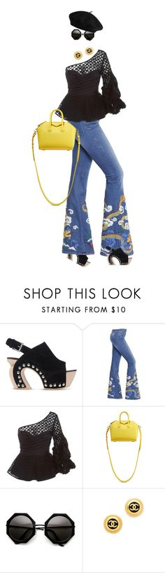 """""""eva1184"""" by evava-c on Polyvore featuring Alexander McQueen, The Seafarer, Johanna Ortiz and Givenchy"""