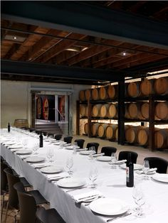 Yalumba Winery – Signature Cellars / Grieve Gillett #wine #interiordesign