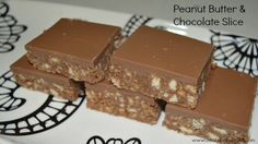 Peanut Butter and Chocolate Slice - Create Bake Make