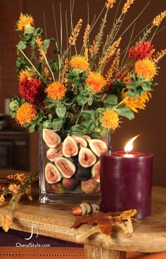 add a splash of color to your thanksgiving tablescape this year