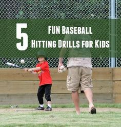 5 Fun Baseball Hitting Drills for Youth - OurTeamApp | Youth Sports