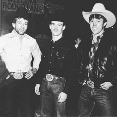 Lane Frost, Jim Sharp and Tuff Hedeman