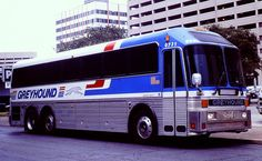 Late 1970's Eagle Motorcoach Greyhound Bus #BUS