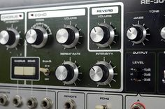Old school Reverb and delay effect