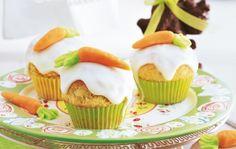 Oster Muffins mit Möhrchen