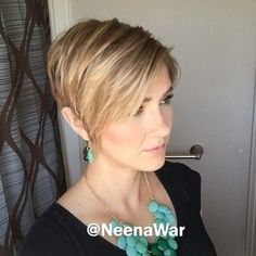 Fabulous cut and color on @neenawar !👌🏼 Who else loves #pixie360instavideo's? Tag your vids! 🎥 #pixie360