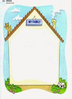 AGORA QUE SOU TEACHER: MINHA FAMÍLIA Preschool Family Theme, Preschool Writing, Preschool Learning Activities, Family Crafts, Infant Activities, All About Me Preschool, Family Worksheet, Certificate Design Template, Learning English For Kids