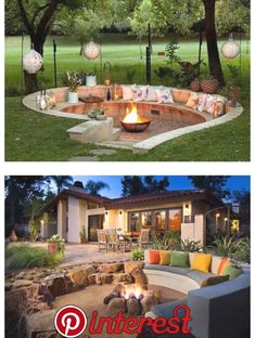 If you are looking for Backyard Fire Pit Ideas, You come to the right place. Below are the Backyard Fire Pit Ideas. This post about Backyard Fire Pit Ideas was p. Backyard Patio Designs, Backyard Projects, Landscaping Ideas For Backyard, Cool Backyard Ideas, Backyard Seating, Back Yard Patio Ideas, Backyard Landscape Design, Pergola Ideas, Outdoor Projects