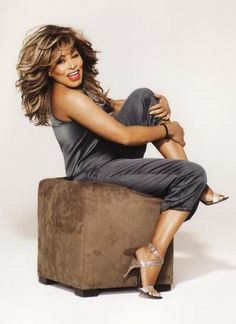 "ⓦ Women's Wisdom & Wit ⓦ funny & inspirational quotes from women aging gracefully | Tina Turner:  ""I believe that if you'll just stand up and go, life will open up for you."""