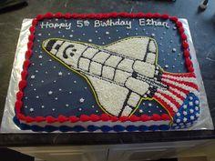 Rocket  on Cake Central