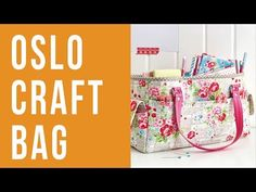 (26) How to Make a Craft Bag - YouTube