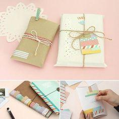 DIY น่ารักๆ | กล่องของขวัญ การ์ด ซองจดหมาย