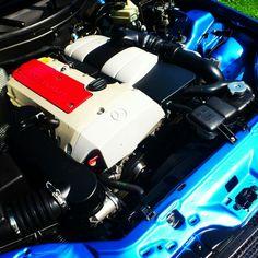 Mercedes engine.