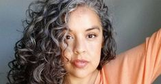 Going Gray, Curly Hairstyles, White Hair, Natural Hair Styles, Dreadlocks, Beauty, Grey Hair, Curly Hairstyle, Dreads