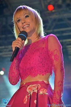"""Francine Jordi beim """"Wenn die Musi spielt Sommer open Air 2015"""""""