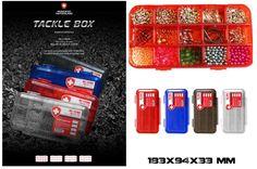 Tackle Box Scatola Porta accessori Moncross Trasparente - EUR 8.50