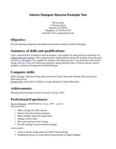 Designer Resume Sample Objective Teacher Over And Samples Graphic Design How Write Stuff