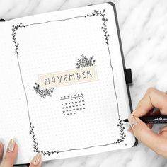 """2,974 Likes, 46 Comments - Cristina (@my.life.in.a.bullet) on Instagram: """"❁ happy nov 1st! have you seen my Nov plan with me video? it's in my bio! ❁ . // did you guys do…"""""""