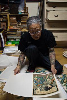 Horiyoshi III #tattoo #giappone #fotografia