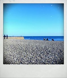 English seaside in March