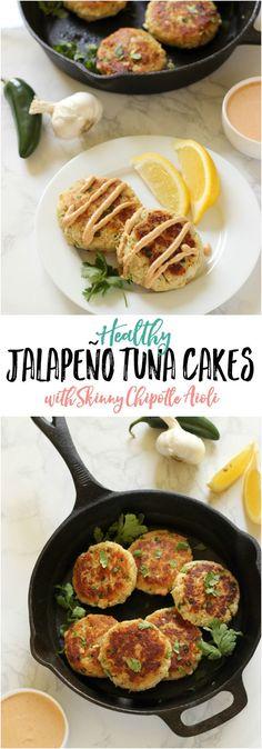 Jalapeño Tuna Cakes