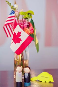 Flags, United States, Canada, The Unit, Events, Table Decorations, Wedding, Home Decor, Casamento