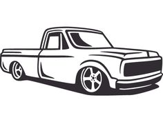 Wandtattoo Pick up Fahrzeug |Graz Design