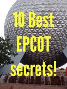 10 Best Epcot Secrets | Disney & Sparkle