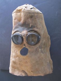 Leather Welders Mask at 1stdibs