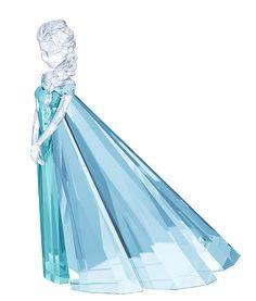 Swarovski Crystal Elsa from Disney's Frozen Disney Figurines, Glass Figurines, Swarovski Crystal Figurines, Swarovski Crystals, Disney And Dreamworks, Disney Pixar, Chesire Cat, Disney Animated Films, Crystals In The Home
