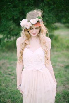 Hair styling & garland