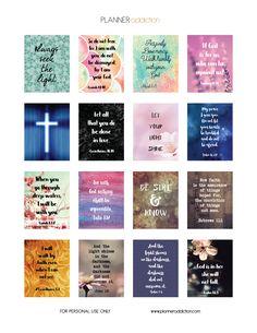 Bible Scripture (Planner Addiction)