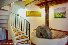 Charming Tuscan oil mill built in the - finely refurbished and transformed into 2 living units at the outskirts of Lucca. Dream Properties, Lucca, Olives, North West, Farm House, Villas, Tuscany, Olive Oil, Old Things